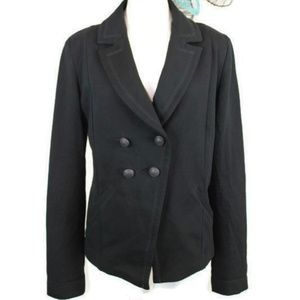 Express Double Breasted Stretch Jersey Blazer